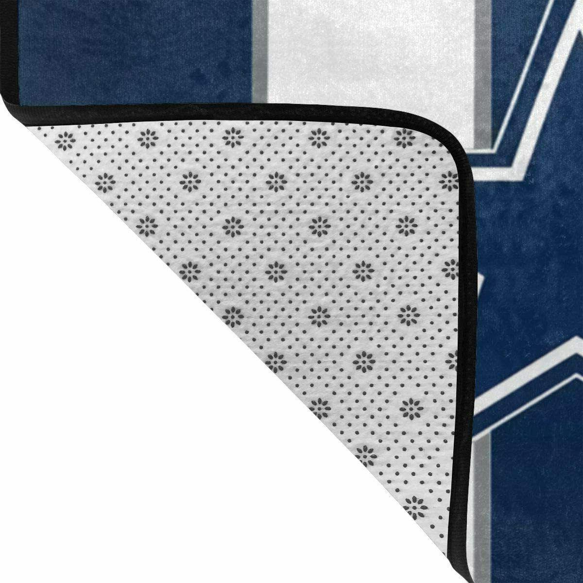 Dallas Cowboys Area Fans Room Bedroom Carpet