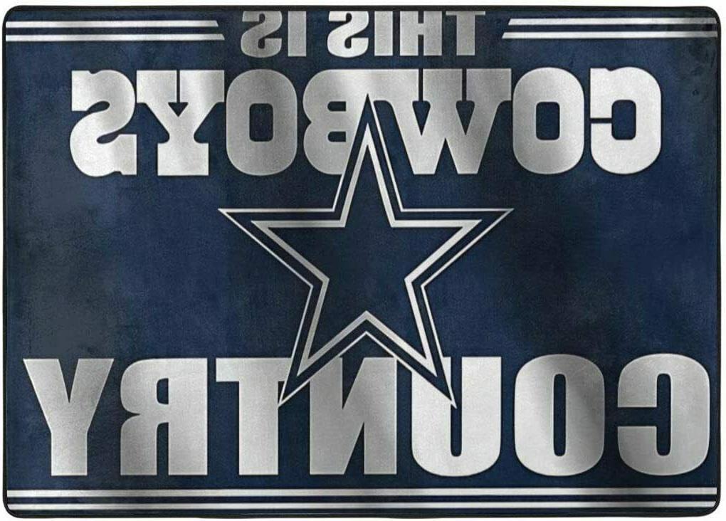 Dallas Cowboys Rugs Area Rug Room Floor Carpet
