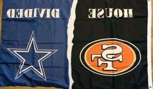 dallas cowboys san francisco 49ers house divided