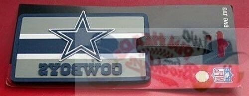 dallas cowboys team logo luggage tag
