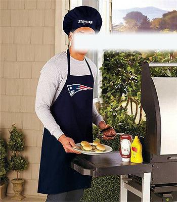 NEW APRON CHEF HAT, NFL