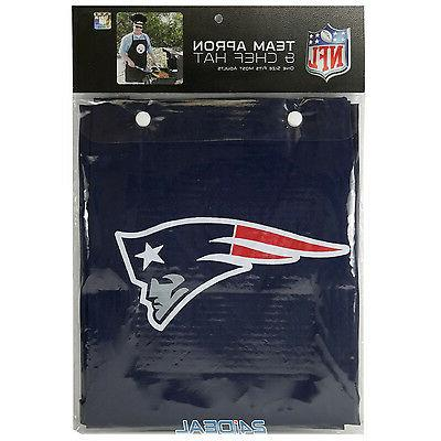 NEW PATRIOTS APRON NFL BARBECUE TAILGATING