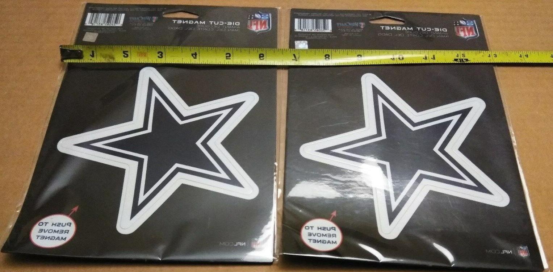 lot 2 dallas cowboys large star die