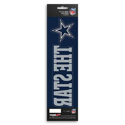 New NFL Die-Cut Vinyl