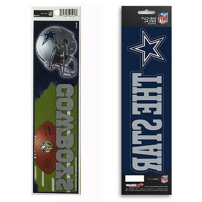 new nfl dallas cowboys die cut vinyl