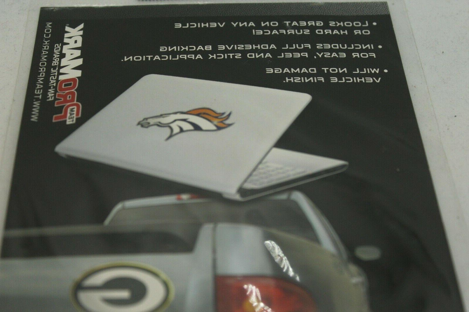 NFL Heavy Duty Color Emblem. Available NFL Decall