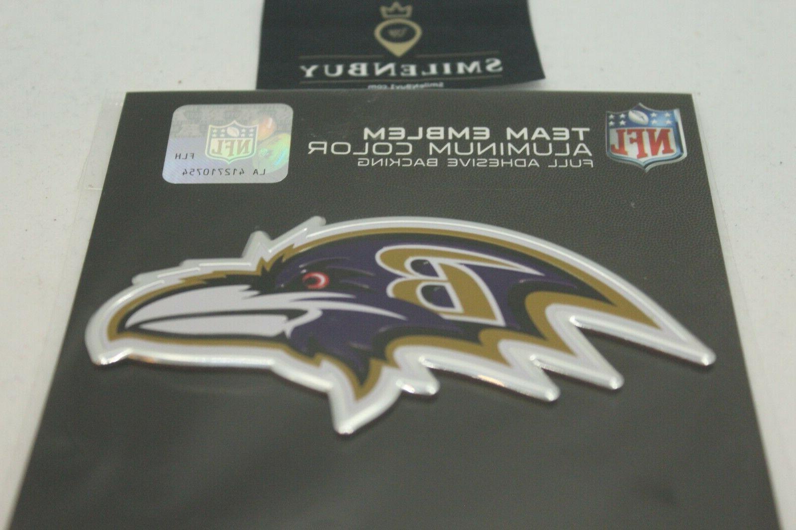 NFL Car Heavy Metal Emblem. All Teams NFL
