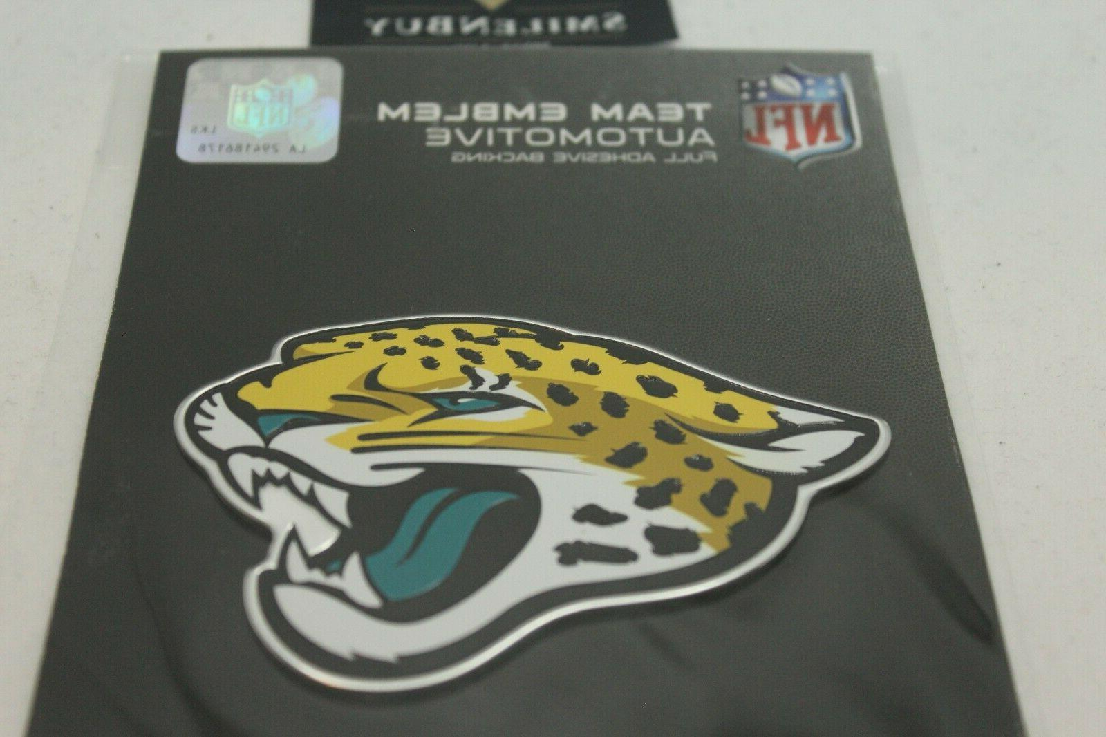 NFL Auto Car Heavy Metal Color Emblem. All NFL