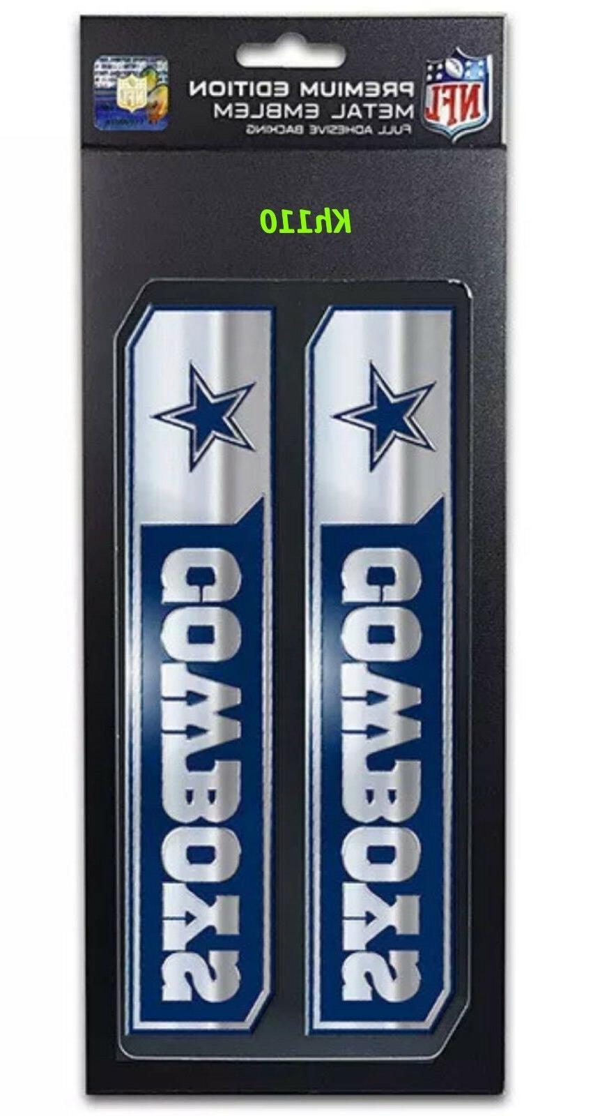 NFL Cowboys Truck Badge Aluminum Emblem Sticker