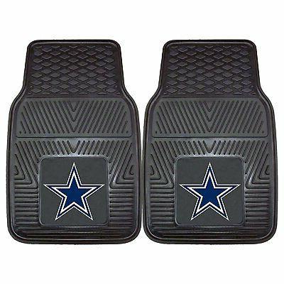 Dallas Cowboys Heavy Duty 2 Piece Vinyl Car Mats