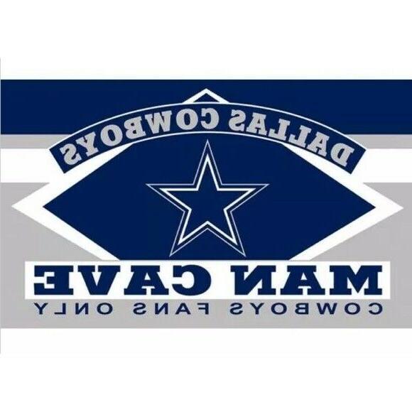 nfl dallas cowboys cave flag