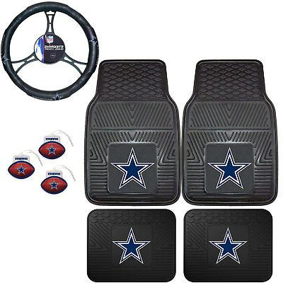 nfl dallas cowboys floor mats steering wheel