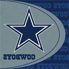 NFL Dallas Cowboys Lunch Napkins