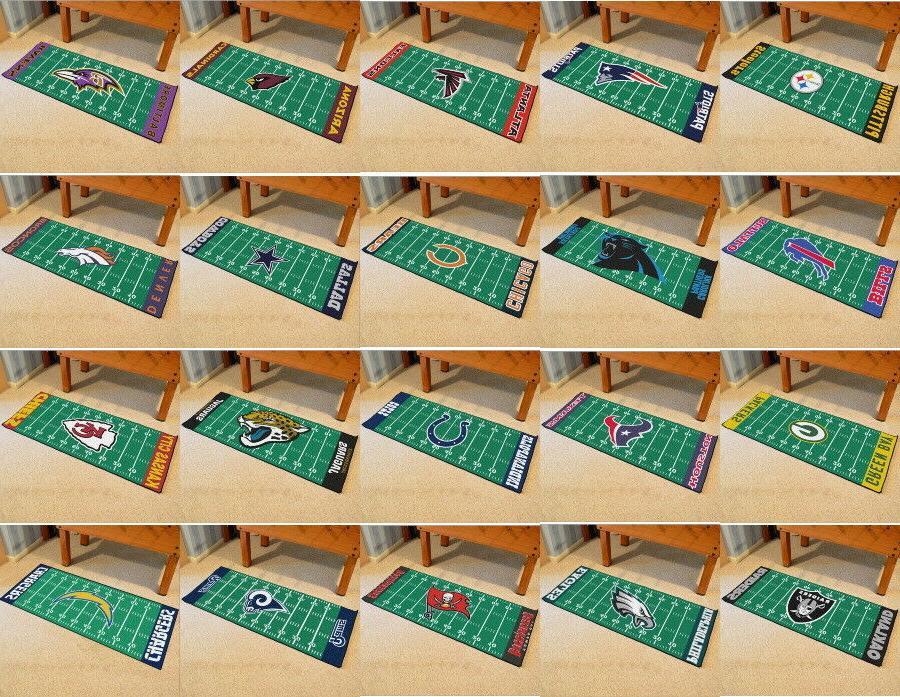 nfl field runner mat area rugs choose