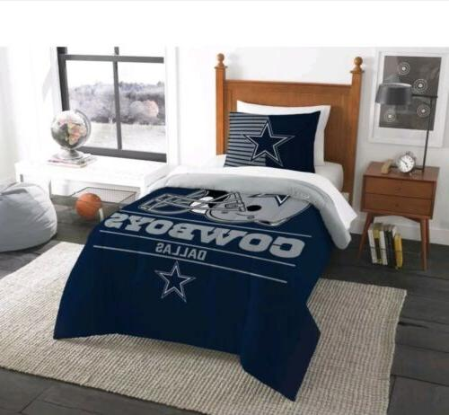 nfl licensed dallas cowboys twin comforter