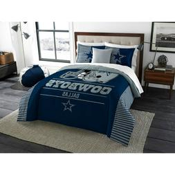 New! DALLAS COWBOYS Comforter 3 Pc Set King Size NFL Team Dr