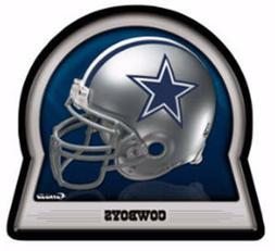 """New DALLAS COWBOYS Fathead/Poster NFL TEAM HELMET 17"""" x 16"""""""