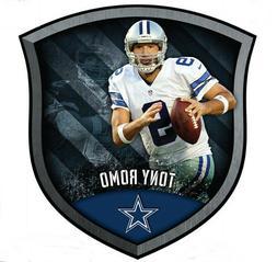 "New DALLAS COWBOYS Fathead/Poster NFL TONY ROMO CREST 18"" x"