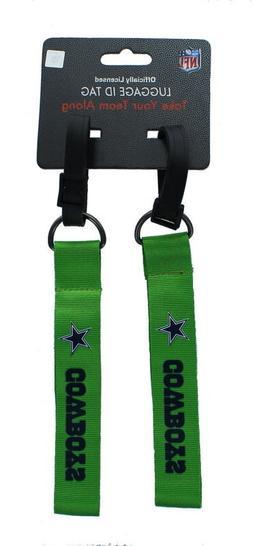 new dallas cowboys luggage id tag