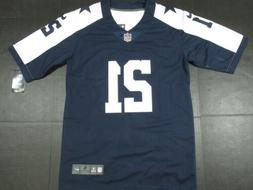 New Ezekiel Elliott #21 Dallas Cowboys All Sewn Jersey Thank