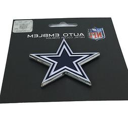 New NFL Dallas Cowboys Auto Car Truck Heavy Duty Metal Color