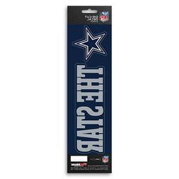 New NFL Dallas Cowboys Die-Cut Vinyl Slogan Decal Pack / Bum