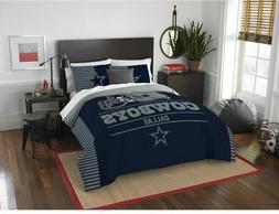 NEW! NFL Dallas Cowboys Draft Me Bedding FULL QUEEN SIZE 3 P