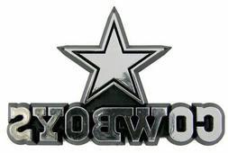 NFL Dallas Cowboys 3-D Chrome Plastic Auto Car Truck Emblem