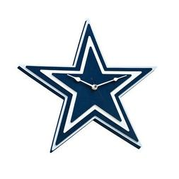 New NFL Dallas Cowboys 3-D Foam Wall Clock Made in USA by Fo