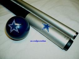 NFL Dallas COWBOYS Billiard Pool Cue Stick & Team Logo Cue B