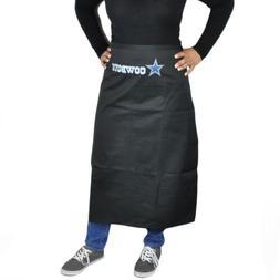 NFL Dallas Cowboys Black Apron Barbecue Accessory Tailgating
