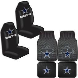 NFL Dallas Cowboys Car Truck Front Back Rubber Floor Mats &