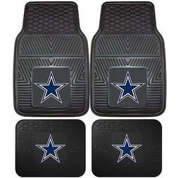 NFL Dallas Cowboys Front Rear Car Truck Rubber Vinyl All Wea