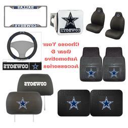 NFL Dallas Cowboys Choose Your Gear Auto Accessories Officia