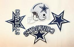 NFL Dallas Cowboys Embroidered  Iron-on Patches FREE SHIPPIN
