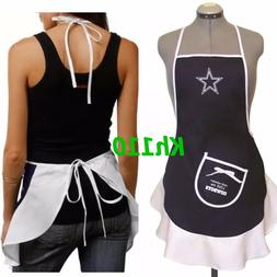 NFL Dallas Cowboys Hostess Apron,Tailgating Grilling Party B