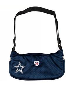 NFL Dallas Cowboys Jersey Team Purse, 12 x 3 x 7-Inch, Navy