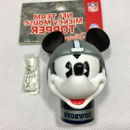 NFL Dallas Cowboys Mickey Mouse Antenna Topper New Package