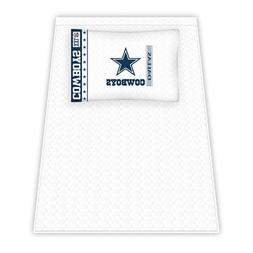NFL Dallas Cowboys Micro Fiber Sheet Set, Twin