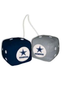 NFL Dallas Cowboys Plush Fuzzy Dice Auto Accessories