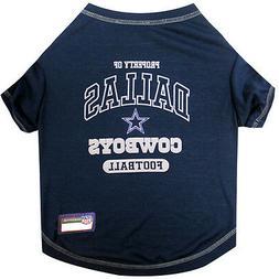NFL Dallas Cowboys Premium Dog Pet Tee Shirt