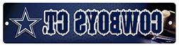 NFL Dallas Cowboys High-Res Plastic Street Sign