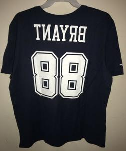 NFL Dez Bryant #88 Dallas Cowboys Men's 2XL NIKE Jersey T-Sh