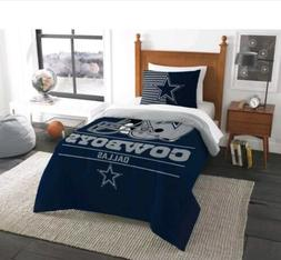 NFL Licensed Dallas Cowboys Twin Comforter and Sham Set plus