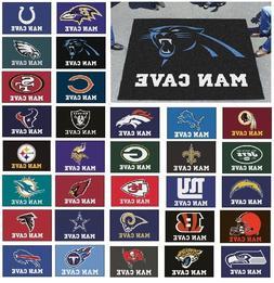 NFL Teams - Man Cave 5' X 6' Tailgater Area Rug Floor Mat