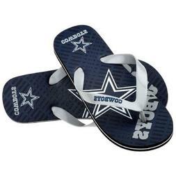 NFL Unisex Gradient Flip-Flops - Dallas Cowboys Forever Coll