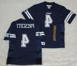 NWT! NFL Dallas Cowboys Dak Prescott #4 Jersey Youth Kids Bo