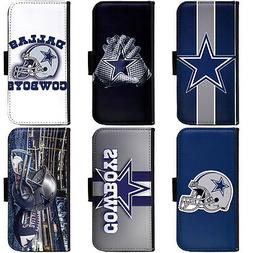 PIN-1 Dallas Cowboys Phone Wallet Flip Case Cover for Samsun