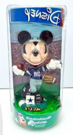 Disney - Quarterback Mickey Mouse Bobblehead - NFL Dallas Co