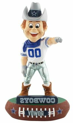Rowdy Mascot Dallas Cowboys FOCO Baller NFL Bobblehead Figur